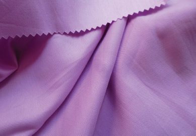 Orchid pink solid organic cotton sateen